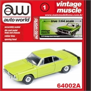 1971 - Dodge Dart Swinger Verde - Auto World - 1/64