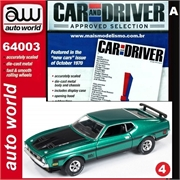 1971 - Ford MUSTANG Mach 1 Verde - Auto World - 1/64