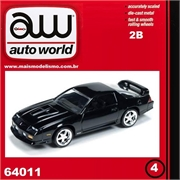 1992 - Chevy CAMARO Z28 Preto - Auto World - 1/64