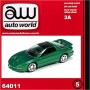 1993 - Pontiac FIREBIRD T/A Verde - Auto World - 1/64