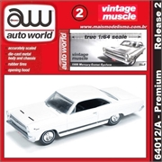 1966 - Mercury COMET Cyclone Branco - Auto World - 1/64