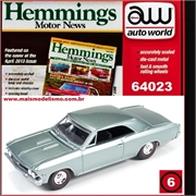 1966 - Chevy CHEVELLE SS 396 Cinza - Auto World - 1/64