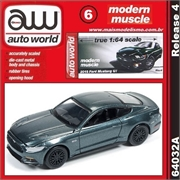 2015 - Ford MUSTANG GT Verde - Auto World - 1/64