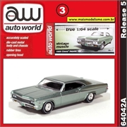 1966 - Chevy Impala SS Verde - Auto World - 1/64