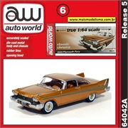 1958 - Plymouth Fury Dourado - Auto World - 1/64