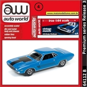 1972 - Dodge Challenger - Auto World - 1/64