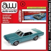 1966 - Oldsmobile 442 Turquesa - Auto World - 1/64