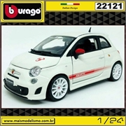Abarth 500 esseesse Branco - Bburago - 1/24