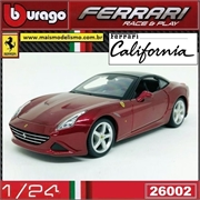 FERRARI California T (closed top) Vinho - Bburago - 1/24