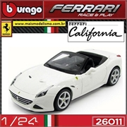 FERRARI California T (open top) Branca - Bburago - 1/24
