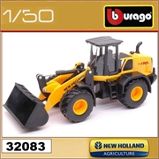 Carregadeira New Holland W170D - Bburago - 1/50