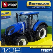 Trator New Holland 17.315 - Bburago - 1/32