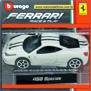 Ferrari 458 Speciale Branca - Race and Play Bburago