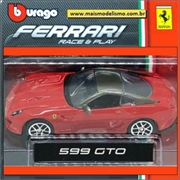 Ferrari 599 GTO Vermelha - Race and Play Bburago