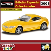 CJ64 - BMW Z4 Amarelo - California Junior - 1/64