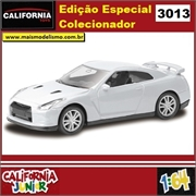 CJ64 - NISSAN GT-R R35 Branco - California Junior - 1/64