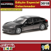 CJ64 - PORSCHE PANAMERA TURBO Preto - California Junior - 1/64