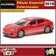 CJ64 - PORSCHE PANAMERA TURBO Vermelho - California Junior - 1/64