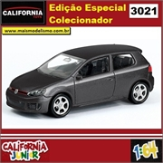 CJ64 - VOLKSWAGEN GOLF GTI Preto - California Junior - 1/64