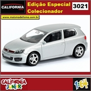 CJ64 - VOLKSWAGEN GOLF GTI Prata - California Junior - 1/64