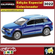 CJ64 - VOLKSWAGEN TOUAREG Azul - California Junior - 1/64