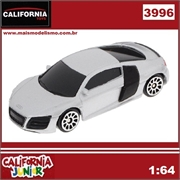 CJ64 - AUDI R8 V10 Prata - California Junior - 1/64