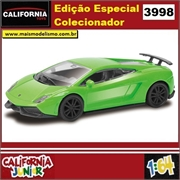 CJ64 - LAMBORGHINI GALLARDO LP 570-4 Verde - California Junior - 1/64