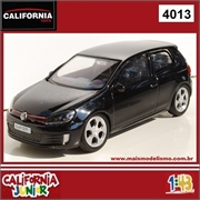 CJ43 - Volkswagen GOLF GTI Preto - California Junior - 1/43