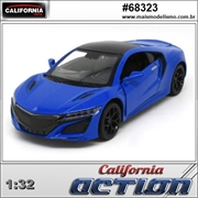 Acura NSX Azul - California Action - 1/32