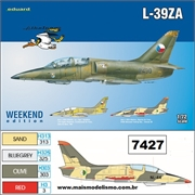 Aero L-39ZA Albatros - Weekend Edition Eduard - 1/72