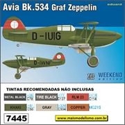Avia Bk.534 Graf Zeppelin - Weekend Edition Eduard - 1/72
