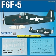 F 6F-5 Hellcat - Weekend Edition Eduard - 1/72