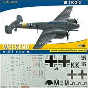 Messerschmitt BF110 G- 2 - Weekend Edition Eduard - 1/48