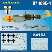Messerschmitt BF109 E- 4 - Weekend Edition Eduard - 1/48