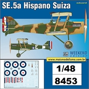 SE.5a Hispano Suiza - Weekend Edition Eduard - 1/48