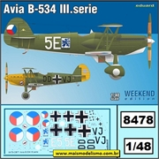 Avia B-534 III.serie - Weekend Edition Eduard - 1/48