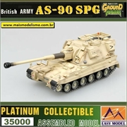 EMT - British Army AS-90 SPG Thor - Easy Model - 1/72