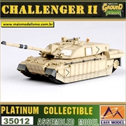 EMT - British CHALLENGER II Iraq 2003 - Easy Model - 1/72