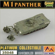 EMT - M1 Panther with Mine Roller Set - Easy Model - 1/72