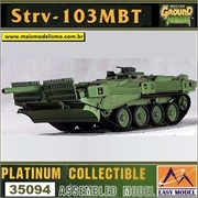 EMT - Strv - 103 MBT Strv-103B - Easy Model - 1/72