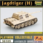 EMT - Jagdtiger (H) S.Pz. Jäg. Abt.512 - Easy Model - 1/72