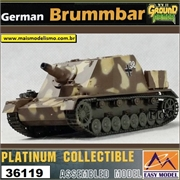 EMT - German BRUMMBAR - Eastern Front 1944 - Easy Model - 1/72