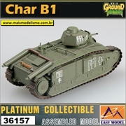 EMT - CHAR B1 Paris France 1944 - Easy Model - 1/72