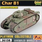 EMT - CHAR B1 2nd Company France 1940 - Easy Model - 1/72