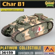 EMT - CHAR B1 3nd Company France 1940 - Easy Model - 1/72