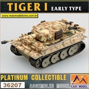 EMT - TIGER I Early Type Grossdeutschland Division 1943 - Easy Model - 1/72