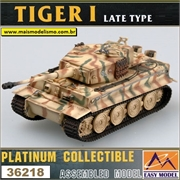 EMT - TIGER I Late Type Totenkopf Panze Division 1944 - Easy Model - 1/72