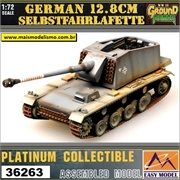 EMT - German 12,8 cm Selbstfahrlafette - Easy Model - 1/72