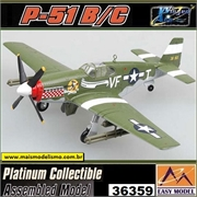 EM - P-51B/C Mustang Capt D Gentile 336th FS 4TH FG - Easy Model - 1/72
