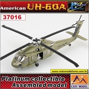 EM - Helicóptero UH-60A Blackhawk MIDNIGHT BLUE - Easy Model - 1/72